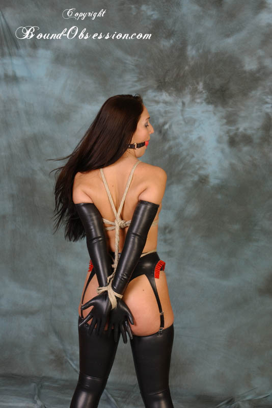 bound obsession hot glamour bondage and fetish models in