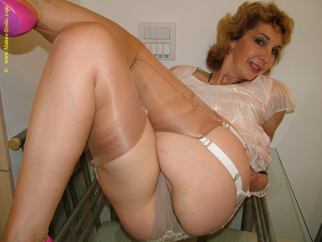 Women underwear mature old in